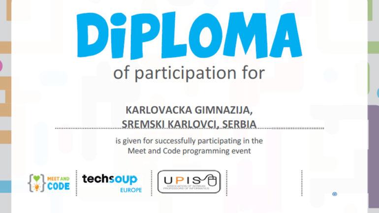 Meet diploma